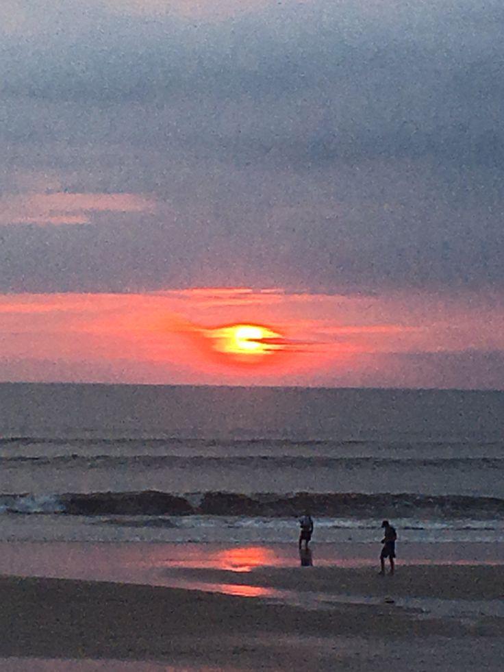 Shores of Seminyak Bali, Sunset November 2017
