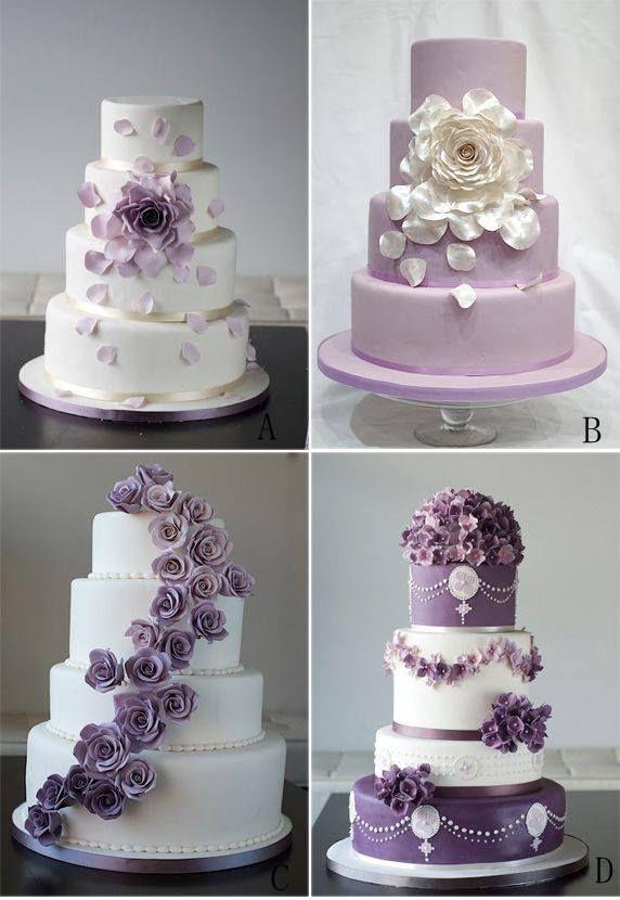 Purple cakes ღ