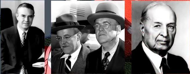 Averell Harriman, Dulles Bros & Sam P. Bush. Masters of Intelligence. OSS creators. Bush was the original Merchant of Death and sired Prescott Bush.