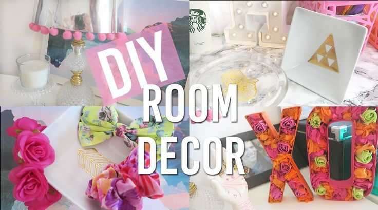 Diy Spring Room Decor Pinterest And Tumblr Inspired Hack And Diy