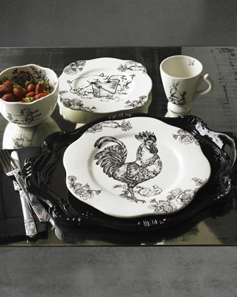 French Farm Dinnerware at Horchow.