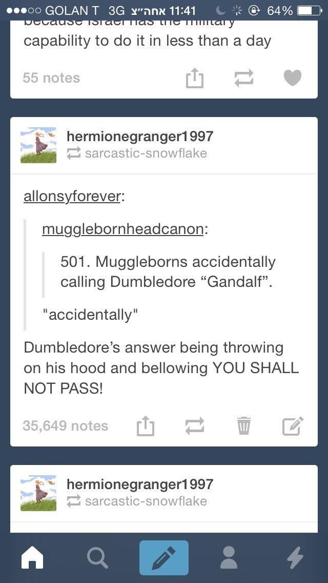"""Dumbledore being a lord of the rings fanatic"" Dumbledore being the leader of a LotR fanclub. < ALL OF THIS IS AMAZING"