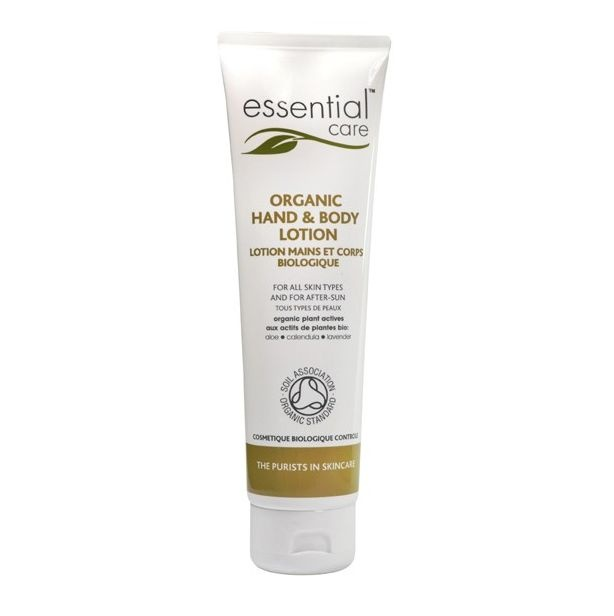 Another special offer and a special treat to soothe all skin types - Essential Care Organic Hand & Body Lotion