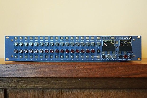 Neve 8816 Summing Mixer for sale on Reverb.com