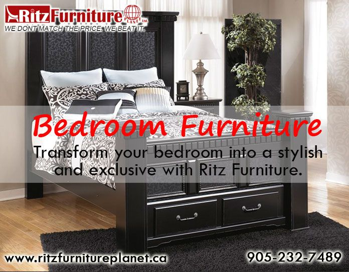 Give the royal look to your bedrooms with ‪#‎BedroomFurnitureMississauga‬. Call at: 905-232-7489 and 289-521-7489 and visit here: http://goo.gl/CiXyw8