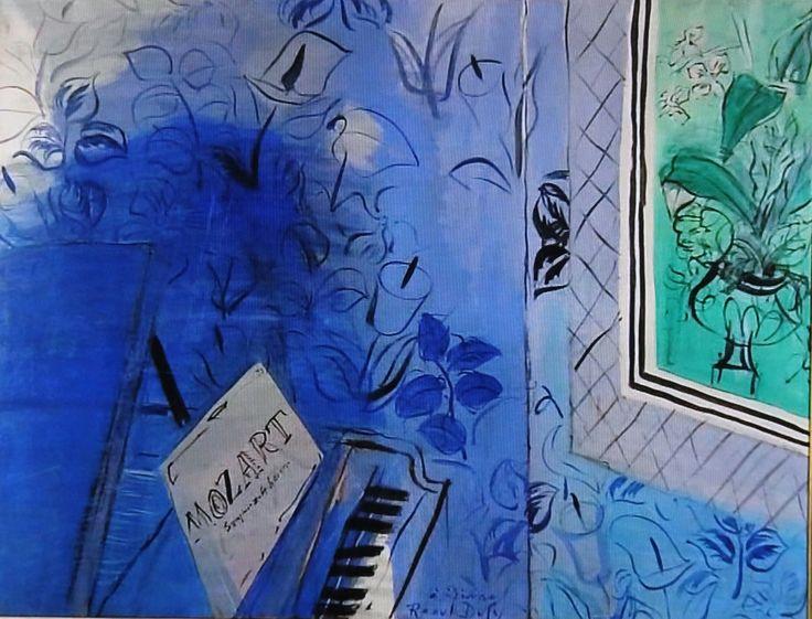 『色彩はうたう ラウル・デュフィ』日曜美術館 - 京都で定年後生活
