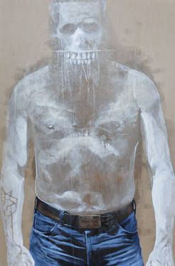 "Saatchi Art Artist Sébastien Layral; Painting, ""718 OTHER LAYRAL"" #art"