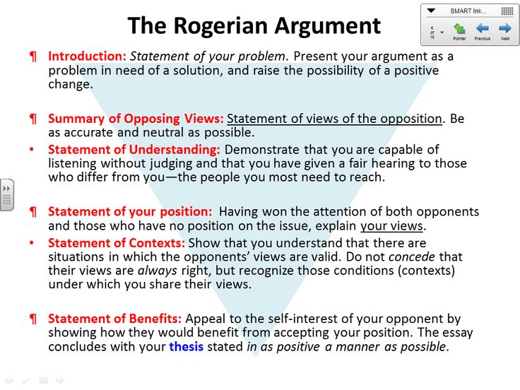 rogerian essay example rogerian argument forms of argument  image result for rogerian argument letter example rogerian essay example