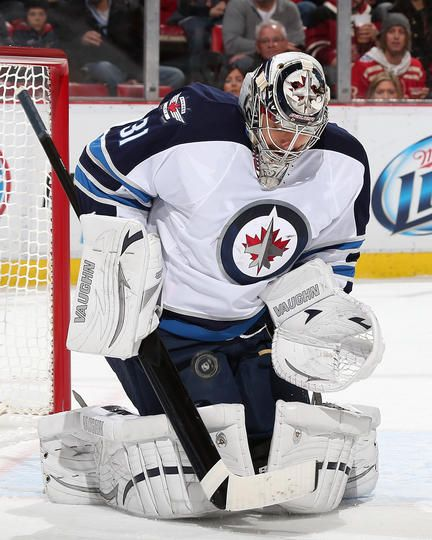 Ondrej Pavelec #31 Winnipeg Jets