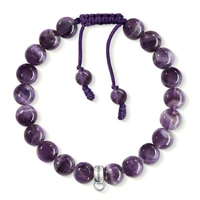 Sometimes we all need to add a little bit of purple to our day. Thomas Sabo has done it again with this sterling silver bracelet! Purchase online now! http://victoriandiamondtraders.com.au/product/1721/Thomas-Sabo-sterling-silver-bracelet#.Um7jpxS4bIU