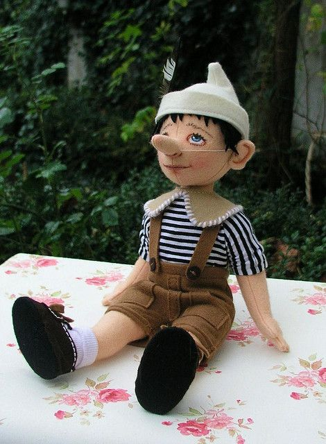 Pinocchio by Helen Priem