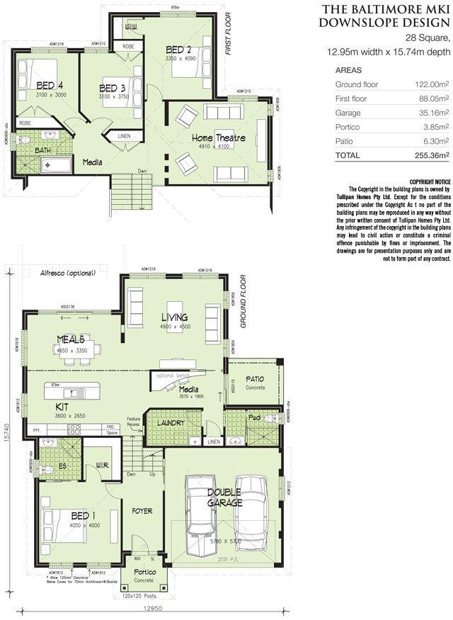 Tullipan Homes   Baltimore MK-1. - Downslope design - Tri-Level.