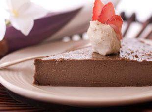 Creamy Milk Chocolate Pie – Sugar Free Recipe
