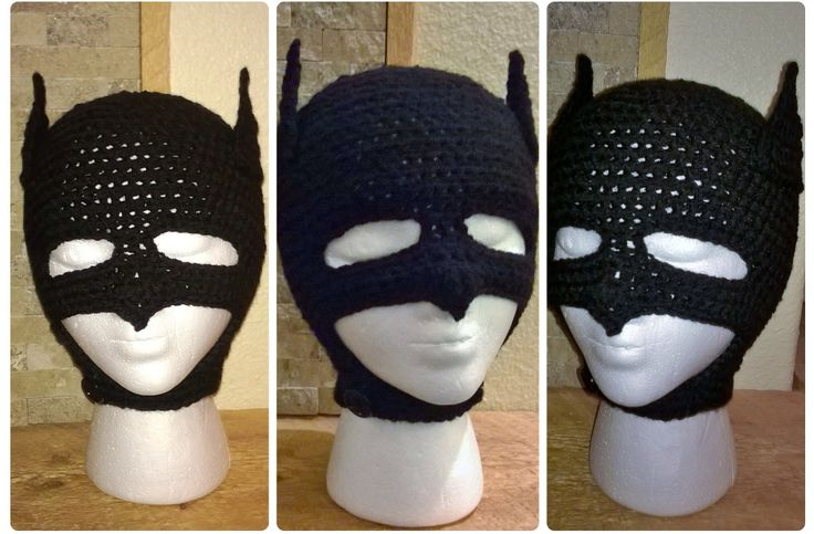 Crochet Batman mask Nice & Knotty Crochet Pinterest ...