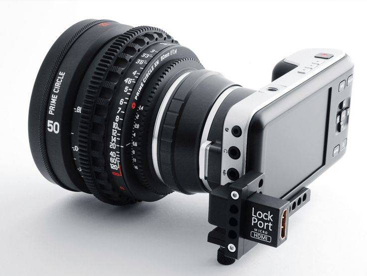 The LockPort Pocket Looks After Your HDMI on Your Blackmagic Pocket Camera: – Cinescopophilia