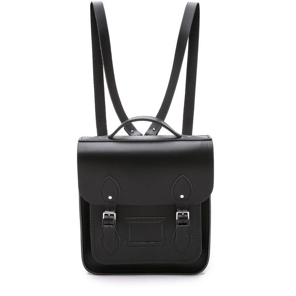 Cambridge Satchel Small Portrait Backpack found on Polyvore