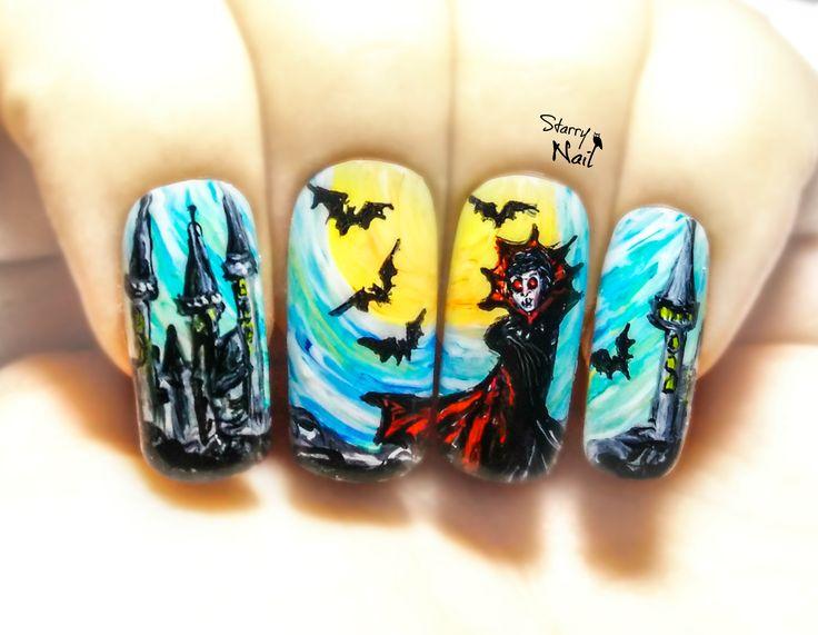 579 best Halloween Nail Art images on Pinterest | Nail scissors ...