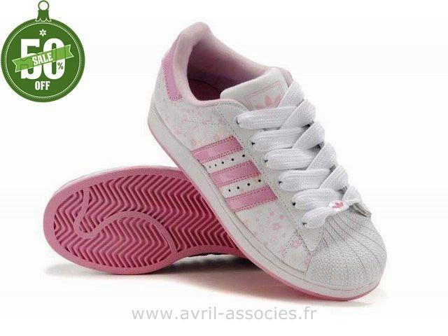 Adidas Superstar Fleur Pas Cher