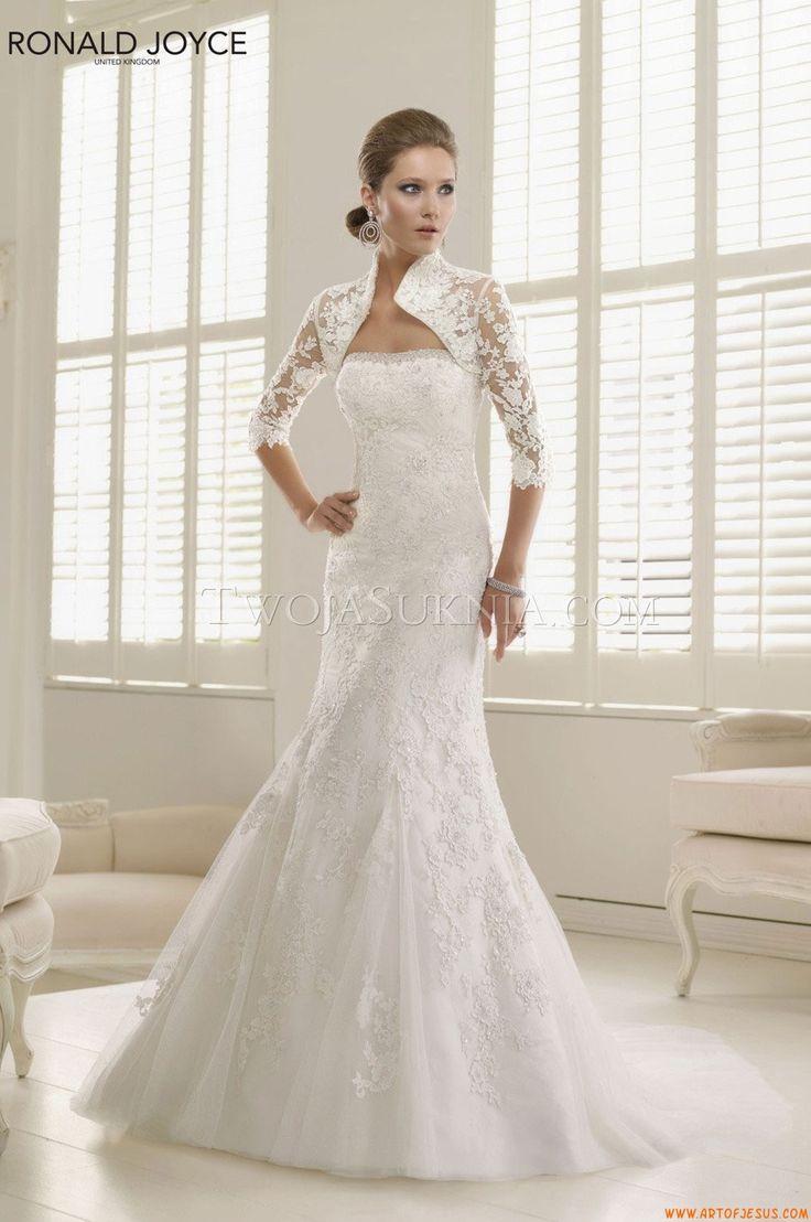 146 best wedding dresses ronald joyce images on Pinterest   Short ...