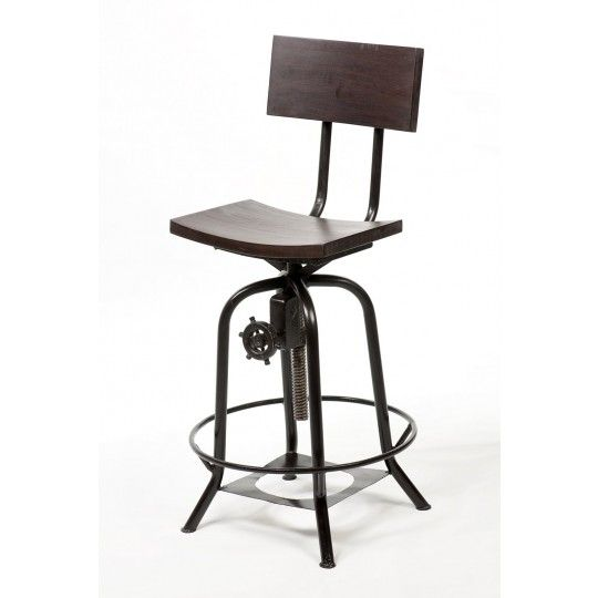 Love this counter stool from cdi furniture counter for Industrial design bar stools