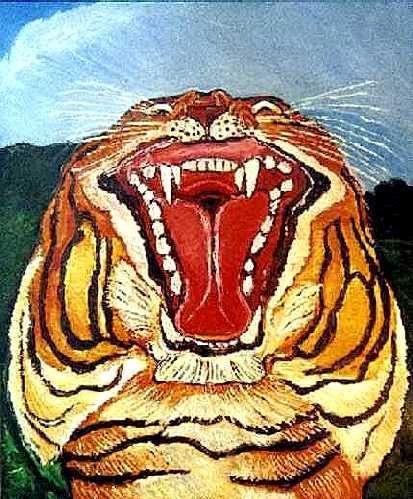 Antonio Ligabue - Tigre