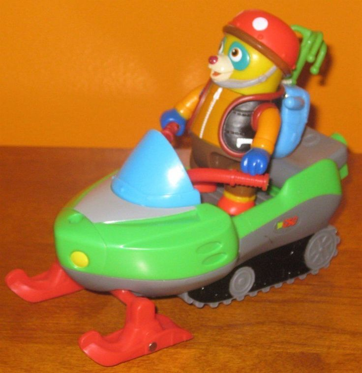 Special Agent OSO Snowmobile Training Pack Figure & Grapple Hook Disney Jr. #LearningCurve