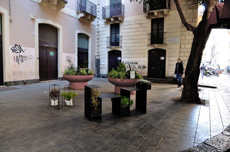 #panchina in #ferro #catania #soaassociati - A7t assettiti - SOA_Spazio Oltre l'Architettura