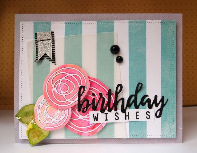 Scribble Flower card