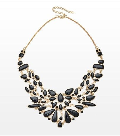 #DYNHOLIDAY Make your little black dress pop with this gorgeous statement necklace.