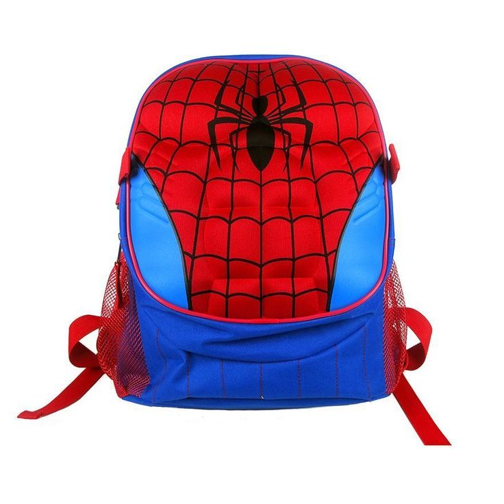 SPIDERMAN Kids SCHOOL BACKPACK Shoulder Bag SPIDER MAN Marvel Comics Muscles