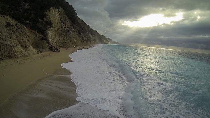 WONDERFUL WILD VIEW OF EGREMNOI BEACH