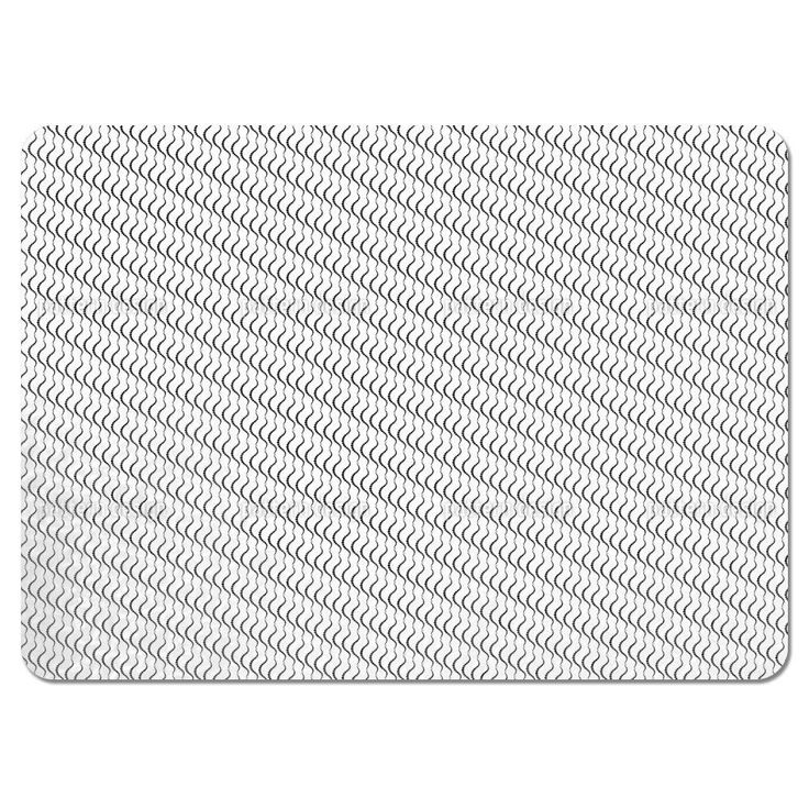 Uneekee Lamello White Placemats (Set of 4) (Lamello White Placemat) (Polyester, Dots)