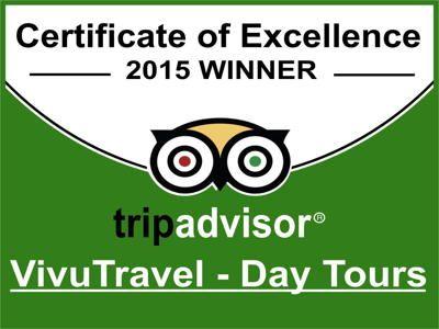 Vivutravel a obtenu le Certificat d'Excellence de TripAdvisor