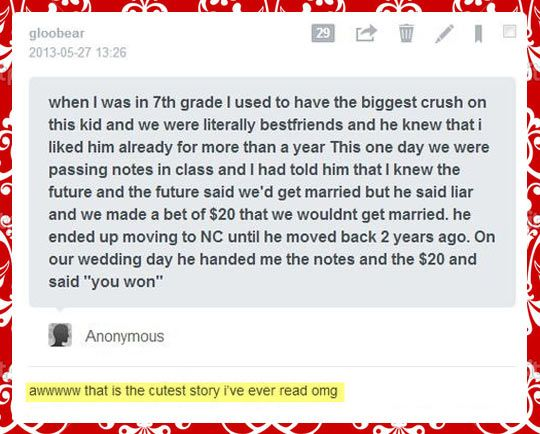 The cutest story I've ever read #funny