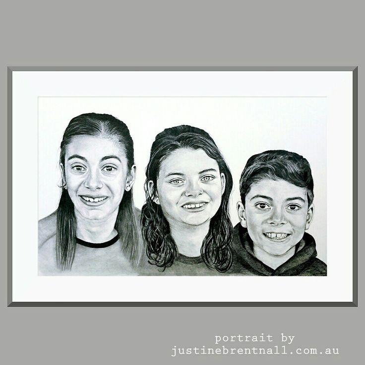 Portrait Commission  Www.justinebrentnall.com.au
