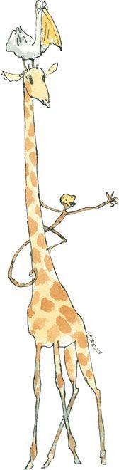 Giraffe, the Pelly, and Me.  Roald Dahl