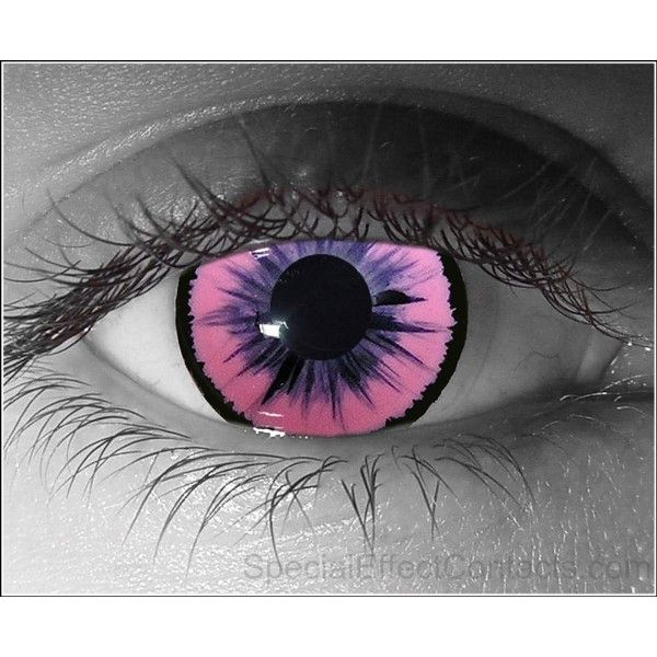 Susccubus Special Effect Contact Lenses ❤ liked on Polyvore featuring eyes