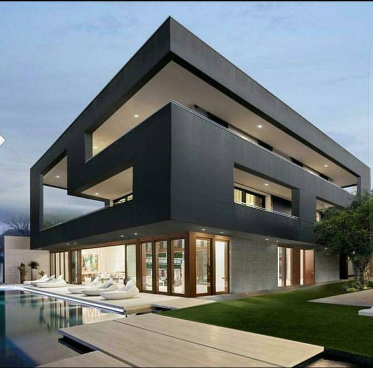 6971 Best Images About Living In A Box On Pinterest | David James ... 18 Luxusvilla Designs Atemberaubend Aussehen