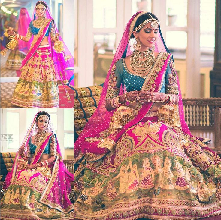 Garba choli wedding lengha