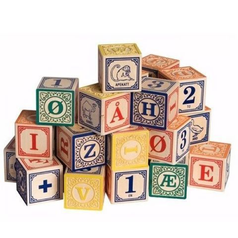 Norwegian Alphabet Blocks $33.29