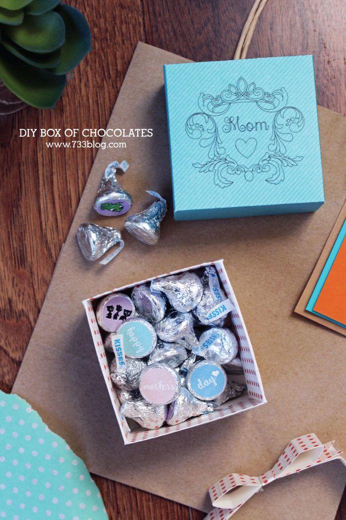 Themed Gift Box Ideas : Diy disney themed mother s day gift idea box