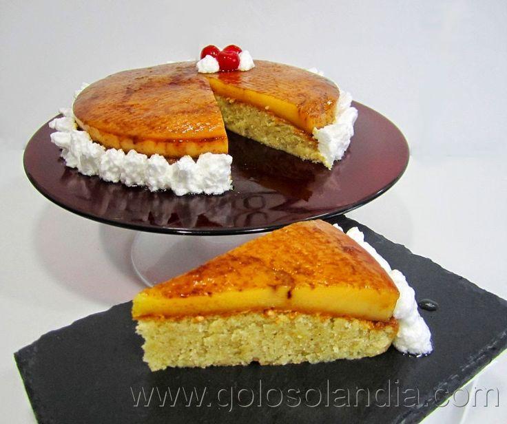 Golosolandia: Recetas de postres (tartas  caseras y postres caseros): Tarta de tocinillo