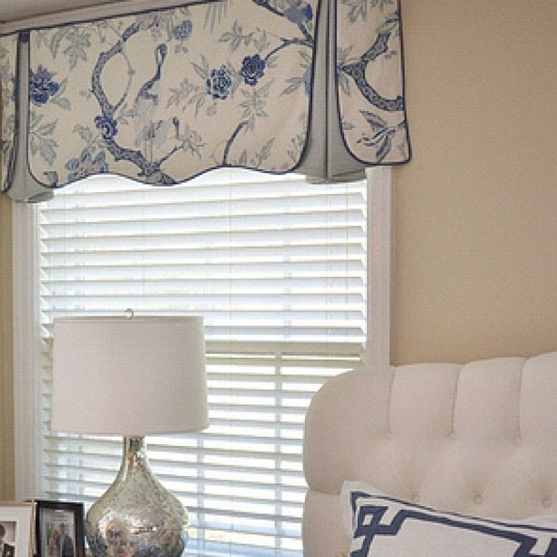 Blue White Valances And That Pillow At Poplinandqueen Latest
