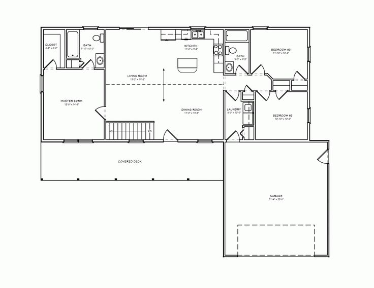 small rambler house plans