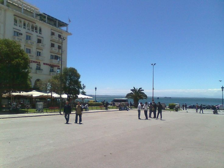 Square Aristotelous. The central and biggest square of Thessaloniki