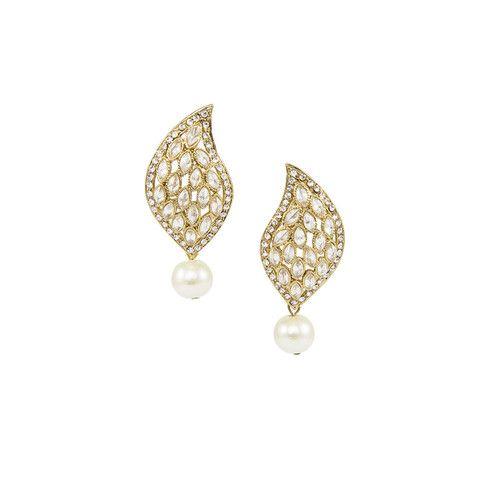 Golden Paisley Earrings