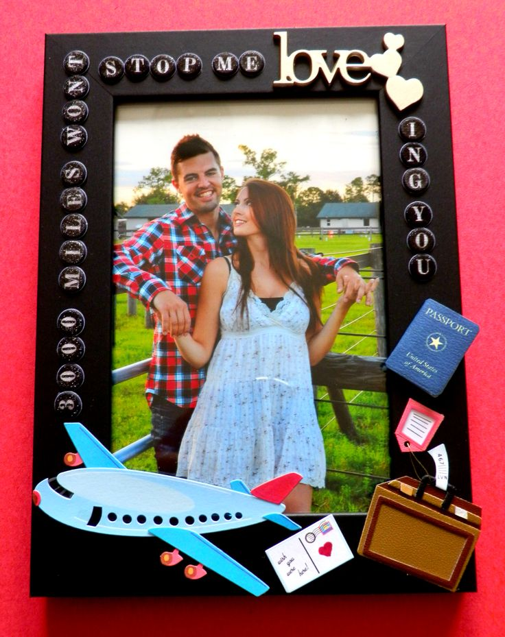 Pinterest Picture Frames For Boyfriend - Easy Craft Ideas