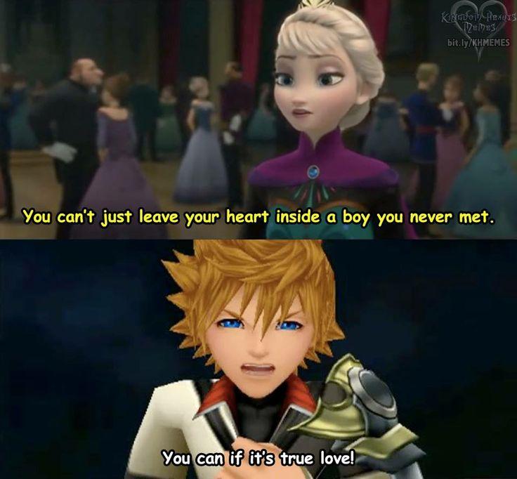 Ventus Frozen Kingdom Hearts Meme