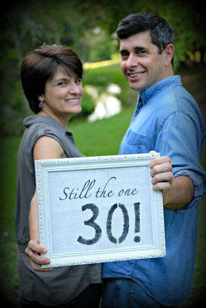 Still the one...  Anniversary picture idea- cute! I'll have to suggest this to my parents!