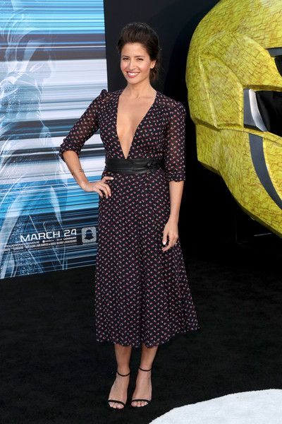 """Actor Mercedes Masohn at the premiere of Lionsgate's """"Power Rangers"""" on March 22, 2017 in Westwood, California."""